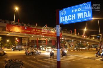 Bán nhà mặt phố Bạch Mai, Hai Bà Trưng, 451m2 x MT 10m, đầu tư, kinh doanh, khách sạn, văn phòng