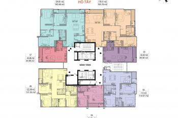 Bán căn 3PN DT 119.57m2 giá 55.5 tr/m2, CK 15% + tặng 1 tỷ làm nội thất, bao phí CN. LH 0902050991