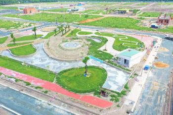 Bán đất khu đô thị Phúc Hưng Golden, liền kề KCN, 100m2, sổ hồng riêng, thổ cư 100%, đường 32m