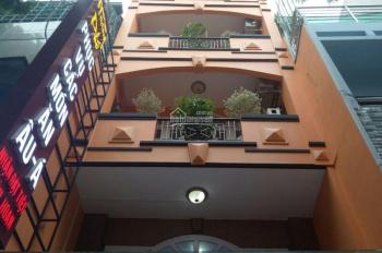 Bán nhà 2 mặt tiền đường Hoàng Diệu Quận 4 giá chỉ 39.9 tỷ hiện trạng 5 lầu thang máy HĐ thuê 130tr
