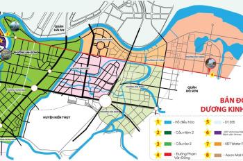 Đầu tư đất nền trung tâm Q. Dương Kinh, Hải Phòng đón đầu quy hoạch của TP với giá bán từ 13 tr/m2