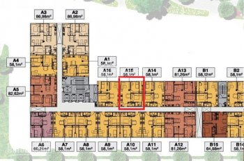 Bán căn hộ 2PN dự án 9 View Hưng Thịnh, Quận 9. 58m2, có nội thất, giá chỉ 1,92 tỷ. 0904153193