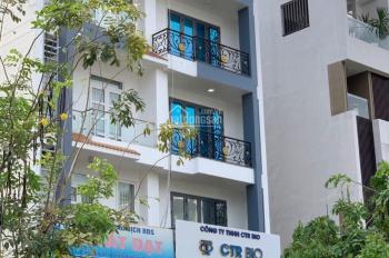 Cho thuê nhà 5x20m Him Lam, 1 hầm, 4 lầu, thang máy, đường 35m, giá 50tr/th rẻ nhất TT, 0907008897