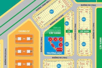 Bán nhà phố và đất nền khu công nghiệp Bàu Xéo