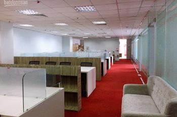 Cho thuê văn phòng có sẵn nội thất 200m2 giá rẻ nhất Cầu Giấy