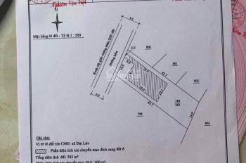 Chính chủ bán đất Đại Lào, Tp. Bảo Lộc chỉ 1,4 triệu/m2, 630m2, giá 800 triệu