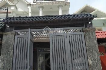 Nhà 4 x 20m 1 trệt 2 lầu sân xe 7c đường nhựa 10m gần Phan Văn Hớn, chợ Đại Hải Hóc Môn 0907679878