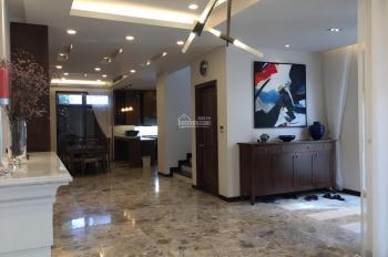 Cho thuê nhà nguyên căn phố Vương Thừa Vũ, ngõ ô tô, nhà mới, 5 phòng ngủ