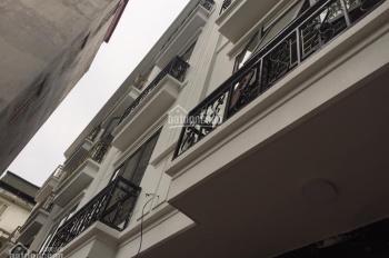 Bán nhà phố Hoàng Hoa Thám, Ba Đình 35m2 x 5 tầng mới, ngõ rộng ba gác, có sân để xe, 3,65 tỷ