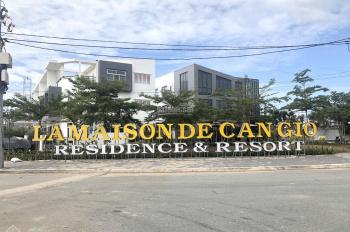 Bán đất dự án La Maison De Cần Giờ, diện tích 5x22m, view sông, giá rẻ 2,75 tỷ, liên hệ 0915663122