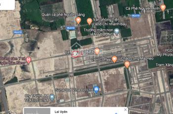 Rất cần tiền nên tôi (1000% chính chủ) cần bán nền đất 41. Block 36. KCN Bàu Bàng, Bình Dương