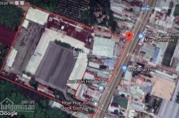 Tôi cần bán lô đất ngay chợ, gần MT đường QL14. Giá chỉ 1,x tỷ, SHR, TC 100% diện tích 90m2