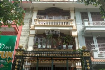 Cho thuê nhà mặt phố Vũ Phạm Hàm, 150m2 x 5 tầng, MT: 5m, giá: 55tr/th