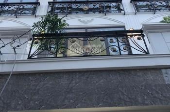 Bán nhà mới 100% tặng full nội thất, 3 lầu 1 sân thượng, hẻm 5m đường An Dương Vương, p. An Lạc