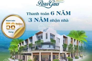 Bóc tem ngay nhà phố biển Para Grus mới nguyên si giá chỉ 5,6tỷ trả 6 năm 3 năm nhận nhà 0392710717