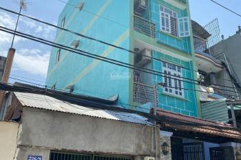 Nhà hẻm 10m An Dương Vương, 4x16m, nở hậu. 1 trệt 3 lầu sân thượng