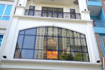 Cần cho thuê nhà ở ngõ 2 đại lộ thăn long dt 45m2*6 tầng mt 4,5m giá 17 triệu lh A Trung 0387606080