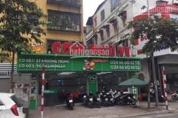 Bán nhà mặt phố Thanh Nhàn, quận Hai Bà Trưng, HN