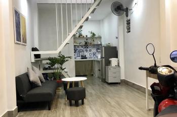 Bán nhà mới hẻm 30 Lâm Văn Bền, sổ riêng, công nhận 28m2, 2pn 1wc, tặng toàn bộ nội thất