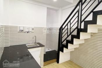 Cho thuê nhà mới NC 3x11m, Nguyễn Biểu, P1, Q5 hẻm thông
