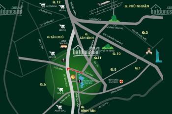 Kẹt tiền, bán gấp căn hộ 2 phòng ngủ Diamond Lotus Lake View, 67.33 m2, 2.25 tỷ, hướng Bắc