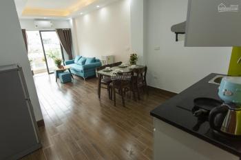 Chính chủ cho thuê căn hộ Studio, 1PN 1PK, full nội thất có ban công, sàn gỗ ở Trần Văn Lai