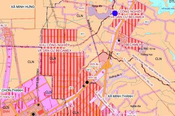 Chính chủ cần bán 1000m2 giá 460tr ngay gần KCN Becamex, cách Quốc lộ 14 chỉ 600m, sổ hồng riêng