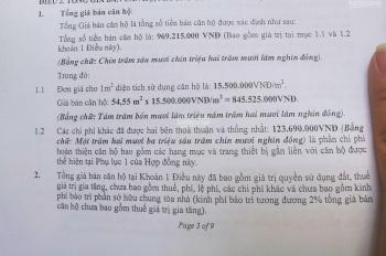 Cần sự quyết đoán căn hộ chung cư 63m2 HH4B Linh Đàm, giá 1,03tỷ cực shock bao giá toàn Vịnh Bắc Bộ