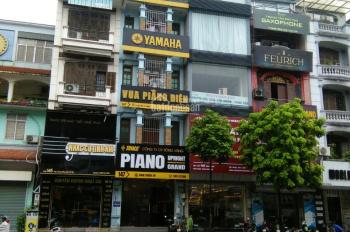 Cho thuê nhà mặt phố Hoàng Quốc Việt, DT 65m2 * 5,5 tầng, MT 4m, Tiện kinh doanh. Giá 40tr