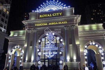 Cho thuê MBKD mặt chung cư cao cấp Royal City, Nguyễn Trãi