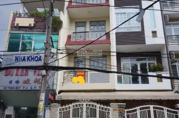 Bán nhà mặt tiền kinh doanh đường Hồ Văn Huê, DT: 4*20m, nhà 4 tấm cứng cáp