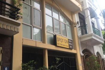 Cho thuê nhà riêng để ở, VP, homestay tại phố Trần Quốc Hoàn 75m2 x 5T, MT 7m, 20tr/th, 0986640980