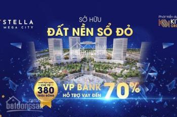 CHỦ ĐẦU TƯ MỞ BÁN BLOCK ĐẸP NHẤT KHU ĐÔ THỊ Stella Mega City - Aeon Mall Cần Thơ - CHIẾT KHẤU KHỦNG