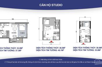 Bán căn Studio chung cư Vinhomes Ocean Park, giá 850 tr, LH 0972794993