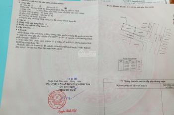 Cần tiền mua nhà, bán đất 54.4m2 ngay Bình Trị Đông, Bình Tân, TP. Hồ Chí Minh (079.3837120)