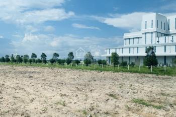 Bán đất gần KCN Becamex DT 540m2, giá 490tr sổ hồng sẵn thổ cư đường nhựa 12m thông