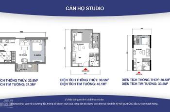 Bán studio chung cư Vinhome Ocean Park, giá 850 tr, LH 0972794993