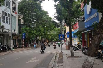 Bán nhà lô góc mặt phố Đội Cấn 77m2 hướng Bắc mặt tiền 4.3m đoạn đẹp nhất gần ngã 3 Giang Văn Minh