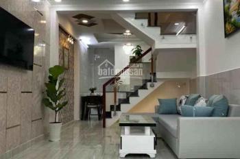 Nhà 3 lầu giá rẻ sát Quận 6, ngay đường Bà Hom, nhà mới, có sổ hồng, giá 2,5 tỷ TL, LH 0368771105