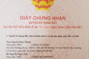 Bán đất căn góc KĐT Đền Lừ 3, Tân Mai, Hoàng Mai, Hà Nội