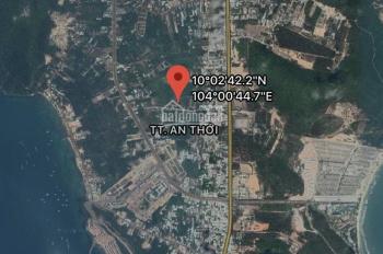 Bán Đất rẽ Thị Trấn An Thới  - Huyện phú quốc - kiên Giang DT : 3000m2 Lh: 0982 000 111 A. Vũ