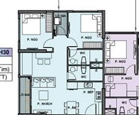 Chính chủ cần chuyển nhượng căn hộ chung cư Vinhomes Ocean Park Gia Lâm. Căn góc 2PN + 1, 2WC