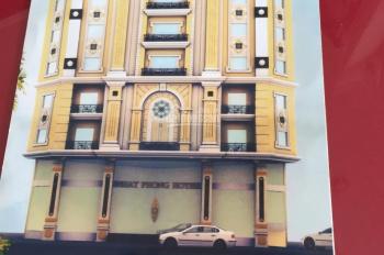 Bán khách sạn 2 MT Chợ Lớn, P. 11, Q. 6, diện tích: 20 x 16m. 1 hầm + 5 lầu; gồm 24 phòng KD