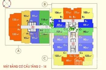 Bán gấp căn hộ cao cấp Phúc Yên 1 Quận Tân Bình, giá 2,4 tỷ