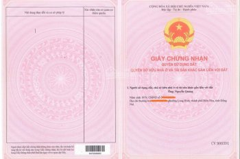 Chính chủ bán gấp đất mặt tiền Nguyễn Hữu Cảnh 47m