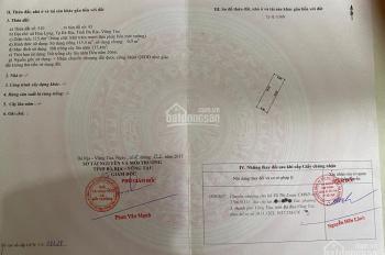 Cần bán 115.4m2 đất Hòa Long(Gò Cát 8), TP Bà Rịa, BRVT