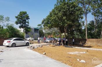 Bán đất Hòa Lạc - Thạch Thất, giá 580tr/lô, gần khu CNC, ô tô tránh, full thổ cư 100%, 0966.04.3737