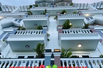 Nhà phố Gò Vấp / nhà xây mới 5 tấm ngay chợ Thạch Đà cần tiền giảm giá mạnh