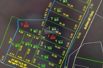 Bán đất nền phân lô gần Lideco Bãi Muối giá chỉ từ 11 tr/m2 đã có sổ đỏ từng lô