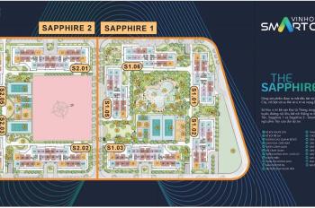 Tổng hợp các căn Shophouse thương mại cho thuê tại Vinhomes Smart City, DT từ 35m-60m-150m-200m2